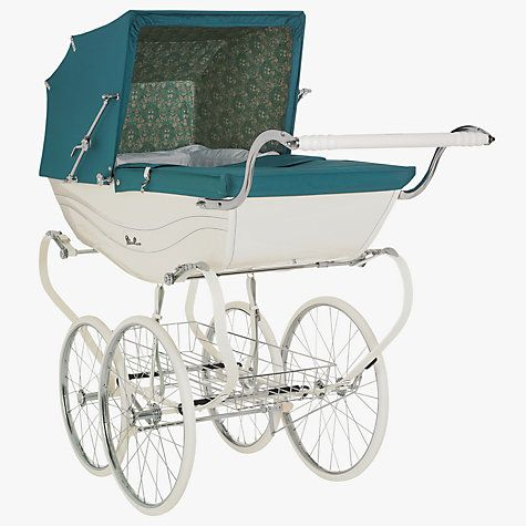 Buy Silver Cross Daisychain Print Balmoral Pram Online at johnlewis.com SO BEAUTIFUL! Too bad they don't ship internationally.