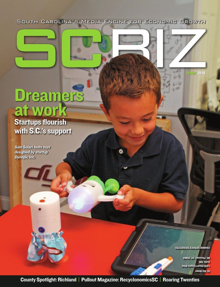 2014 SC Biz - Winter Issue  SCBIZ is the quarterly magazine serving senior level decision-makers across the entire state of South Carolina. In addition to the print publication, SCBIZ covers the state's business community with a daily email, SCBIZ Daily. As the flagship publication of SC Biz News, SCBIZ magazine takes a thoughtful, analytical look at complex issues, opportunities and challenges facing the state's business leaders and fulfills the SCBIZ mission of being South Carolina's media…