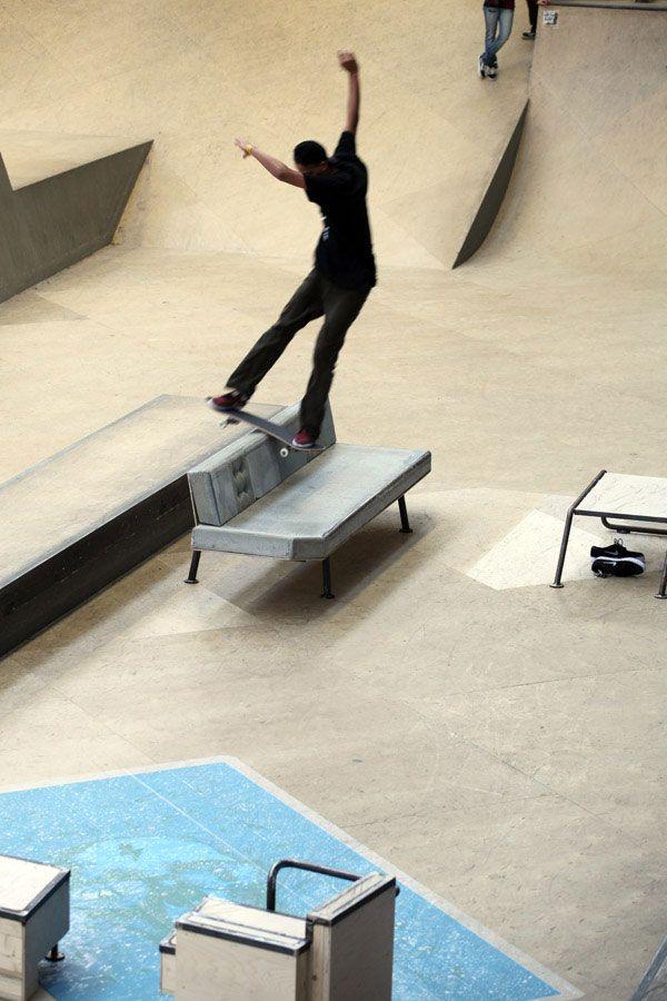 STREET FURNITURE for skateboarders | CONCRETEDESIGNBLOG