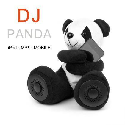 Des haut-parleurs en forme de panda ref 203