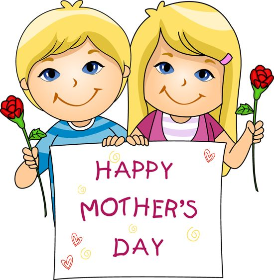 mother's day pictures clip art | Clip Art of Mother's Day Kids