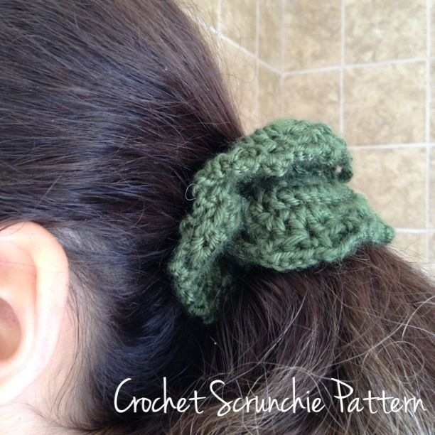 Crochet Hair Elastic : Hair Elastic Crochet Pattern I made 12 of these at Christmas, 2013 ...