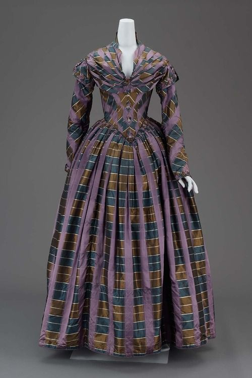 Dress 1840s The Museum of Fine Arts, Boston