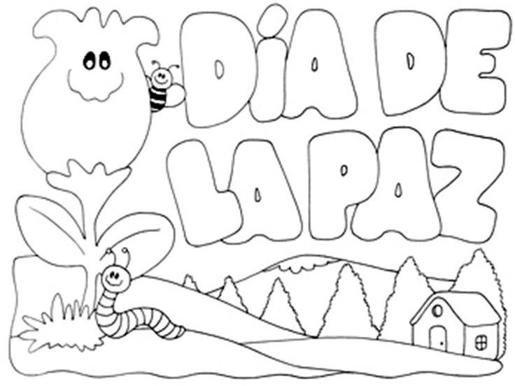Día De La Paz Galería De Dibujos Y Carteles Niños Del: Pasitos De Colores: DÍA DE LA PAZ