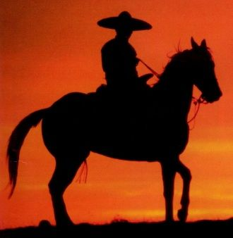 40 best images about mexican calender art on pinterest for Cowboy silhouette tattoo