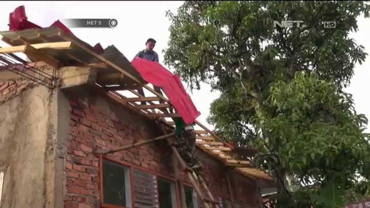 Angin Puting Beliung Rusak Rumah Warga dan Sebuah Sekolah di Sukabumi - ...