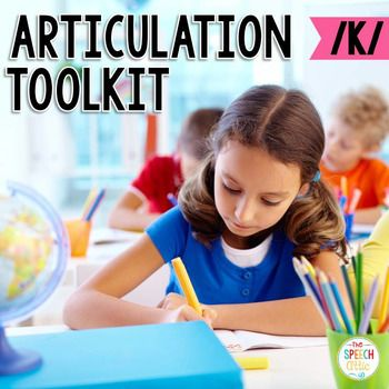 This product provides you with therapy materials for an ENTIRE SCHOOL YEAR. It is filled with hands-on activities designed to keep your students engaged and excited about working on their speech sounds. **IF YOU PURCHASED ARTICULATION KITS, DO NOT PURCHASE THIS PRODUCT**This product contains Sound cue cardSpeech Station PostersMovement cardsDesign a Deck Puzzles (2 piece, 3 piece, reveal a scene)Roll and Say DiceSorting Pockets (initial, medial, final position)Smash MatsWord Wheels $5.00