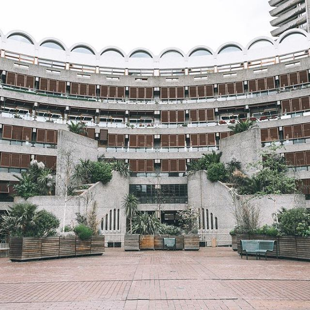 Another barbican shot. - - - #london #londononly #london_only #ig_london…