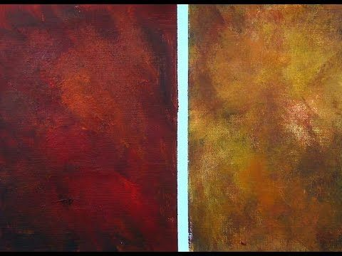 Acryic Painting tip: How to paint a multicolored background for a still ...