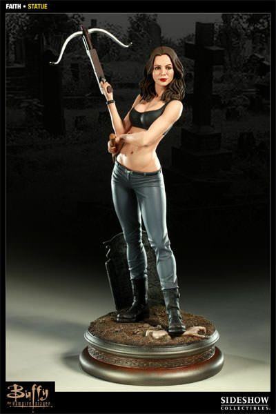 Buffy the Vampire Slayer Faith Statue by Sideshow Collectibl | Sideshow Collectibles