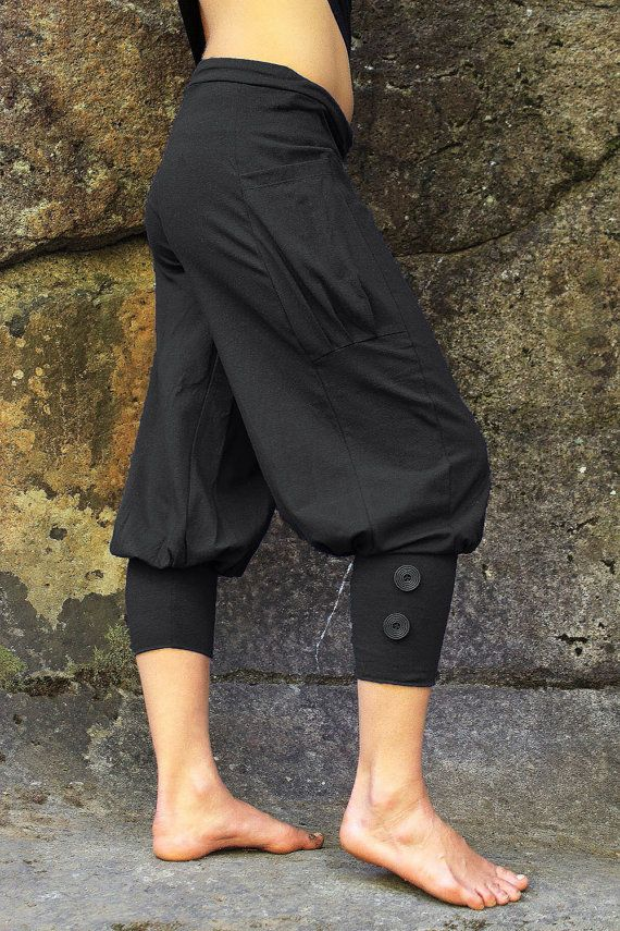 Pedal+Pusher-Bloomers-workout+pants-Womens+by+aurorawear1+on+Etsy