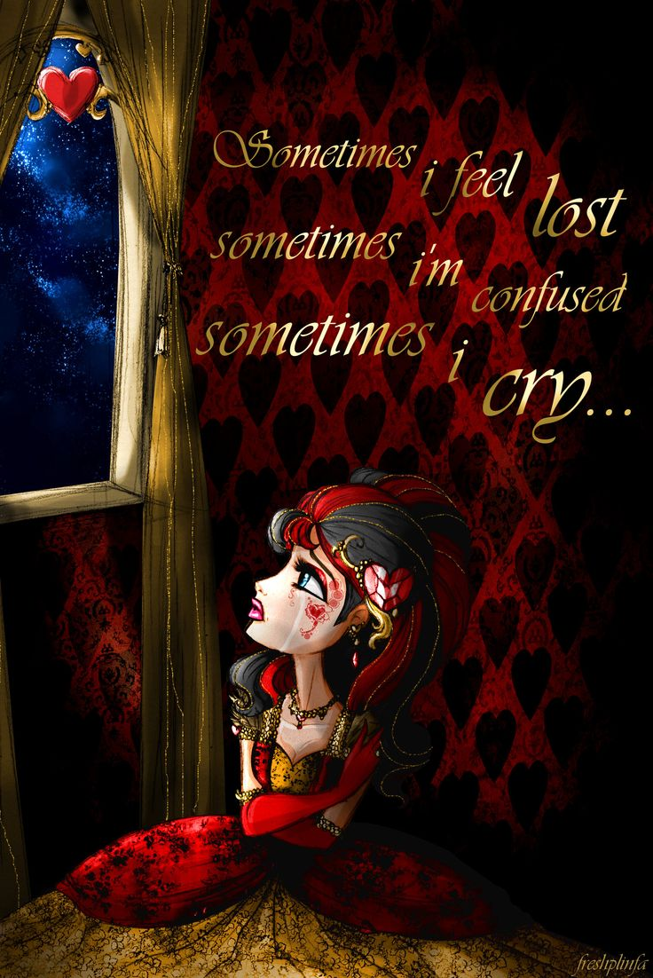 Sometimes... - Lizzie Hearts by FreshPlinfa-Ivy on deviantART