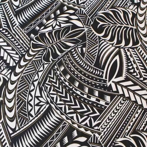Polynesian patterns and tattoos and arts