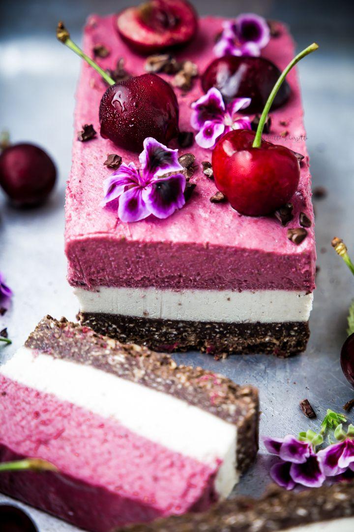 Raw Cherry Parfait Vegan Dessert Vegani Crudi Dessert