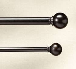 Bronze Curtain Rods & Antique Bronze Curtain Rods | Pottery Barn