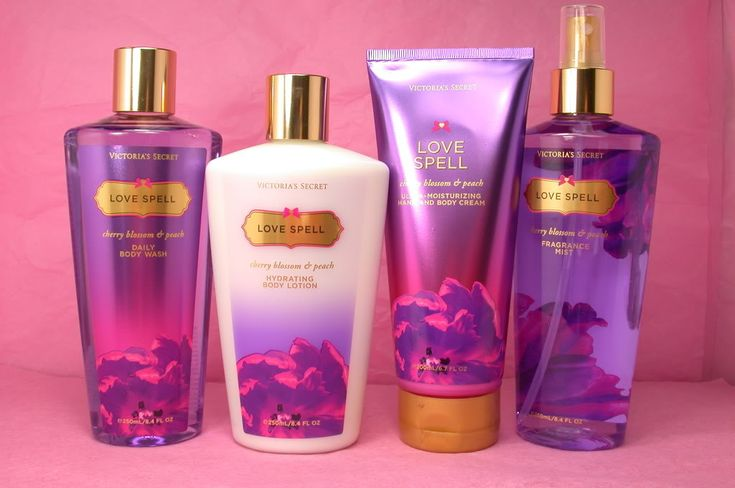 Vicorias secret love spell | Details about 4 pcs set, Victoria's secret Love Spell , Body Lotion ...