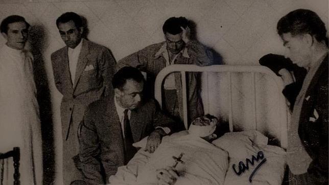 Canito inmortalizó la muerte de Manolete.