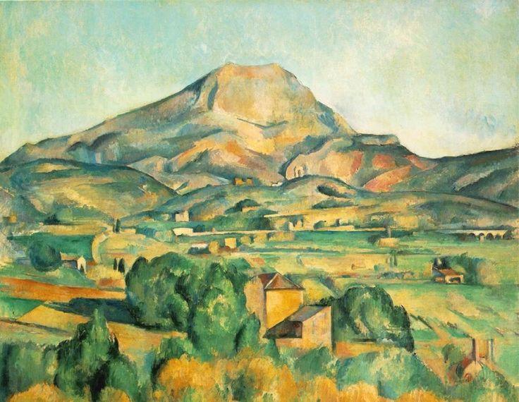 """""""La Montaña de Santa Victoria"""", h. 1885, Pensilvania, Fundación Barnes"""