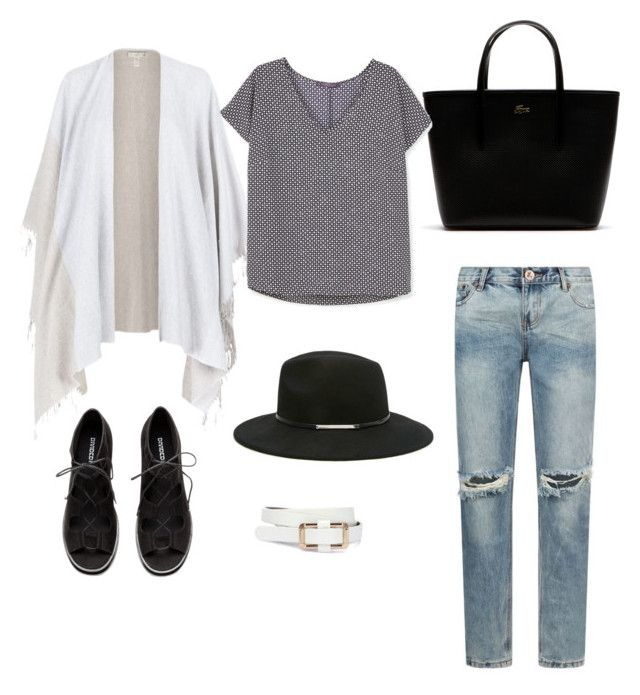 """"" by apostaleksa on Polyvore featuring мода, Lacoste, One Teaspoon, Eileen Fisher, Violeta by Mango и Forever 21"