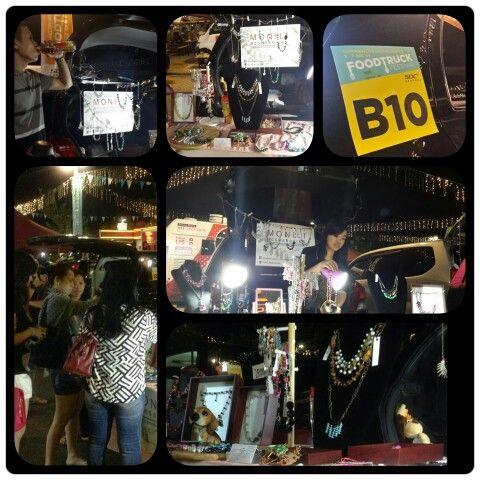 Bazaar at Food Truck Festival in Summarecon Digital Center, Serpong 5-7 Dec