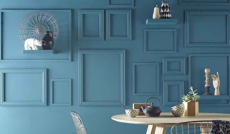 Les murs, éléments de décoration à part entière. © Castorama