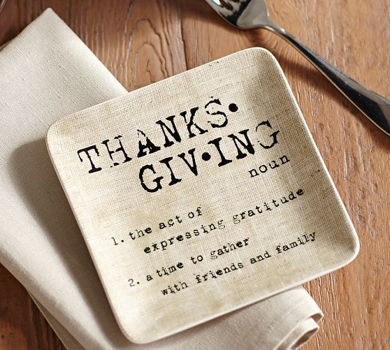 Thanksgiving Appetizer Plates