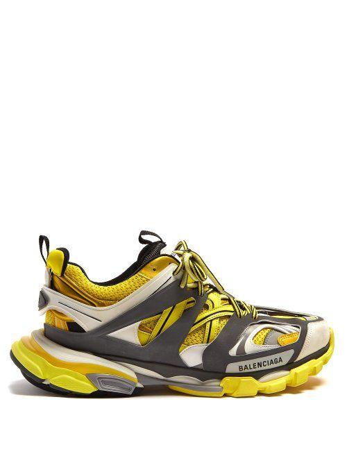 076a5c50f77b4 BALENCIAGA BALENCIAGA - TRACK LOW TOP TRAINERS - MENS - BLACK YELLOW.   balenciaga  shoes