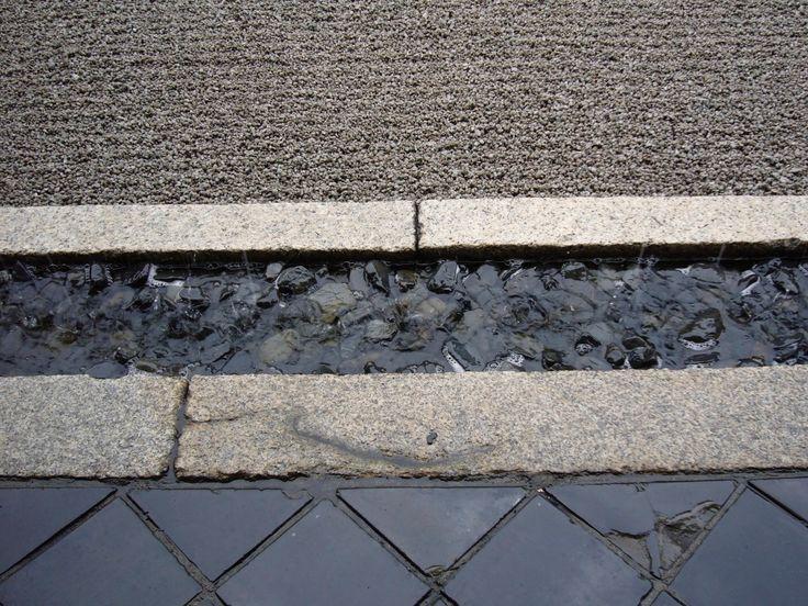 Beautiful hard landscape paving, Kyoto, Japan