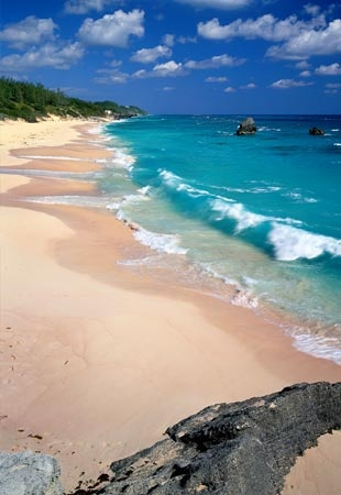 Warwick, Bermuda. BEEN THERE!!!! sooooo pretty!!!Pink Beach, Long Beach, Cant Wait, Pink Sands Beach, Favorite Places, Vacations Spots, Travel, Warwick, Bermuda Azul Turquesa