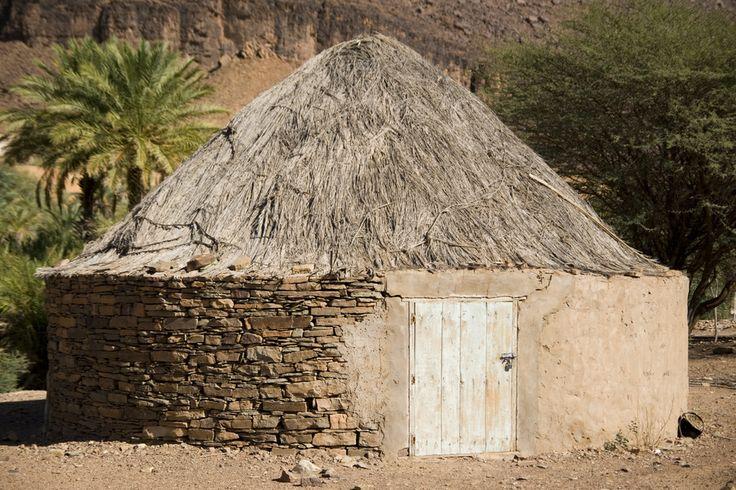 Παραδοσιακή αφρικανική καλύβα