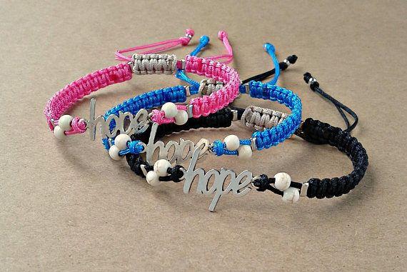 Hope Charm bracelet Hope Bracelet Wish Bracelet Ivory