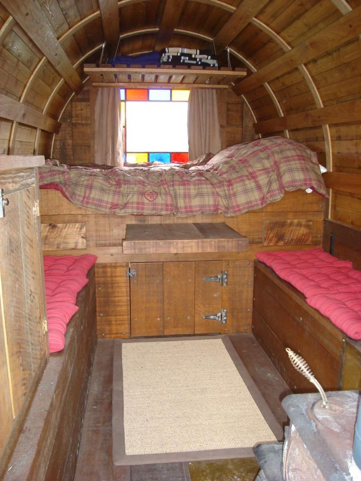 17 best images about trailer construktion anh ngerbau on pinterest gypsy caravan campers and - The mobile shepherds wagon ...