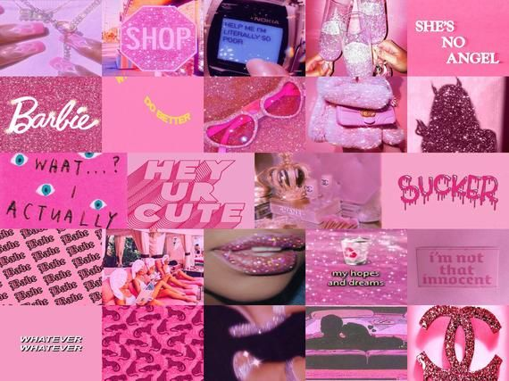 Hot Pink Wall Collage Kit Digital Etsy In 2021 Pink Wallpaper Mac Pink Wallpaper Girly Wall Collage Here is a orange collage laptop wallpaper i made, hope y'all like it hot pink wall collage kit digital