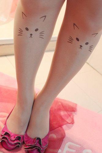 cat tattoos14 Meow! 22 Cool Cat Tattoos  MIA!