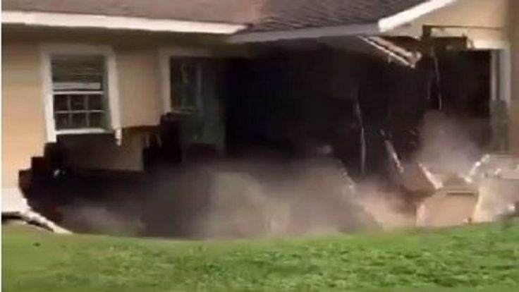 Home #spared by IRMA #swallowed by #sinkhole...
