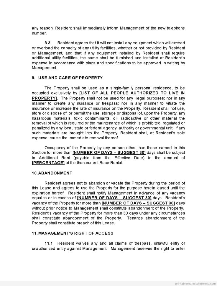 761 best New Legal Forms images on Pinterest Free printable - net lease agreement template