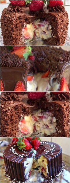 Você quer um bolo para impressionar suas visitas … aqui é maravilhoso !!! VEJA AQUI …