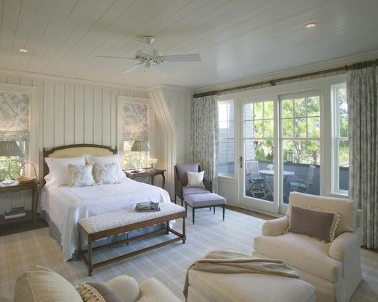 Wood Ceiling Master Bedroom Ideas Traditional Master Bedroom Board And Batten Panelling In