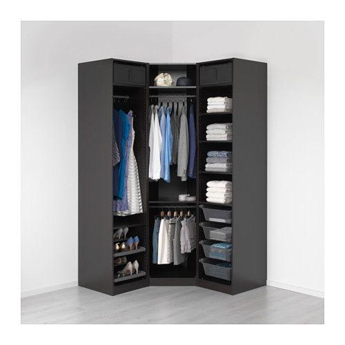 """PAX Wardrobe - 57 1/2/57 1/2x23 5/8x93 1/8 """" - IKEA"""