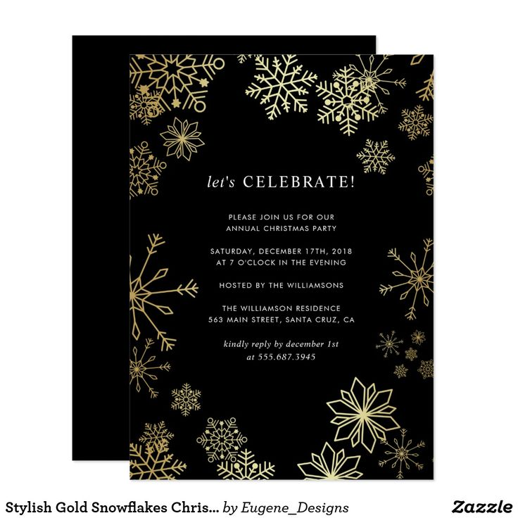 381 best Christmas Party Invitations images on Pinterest ...