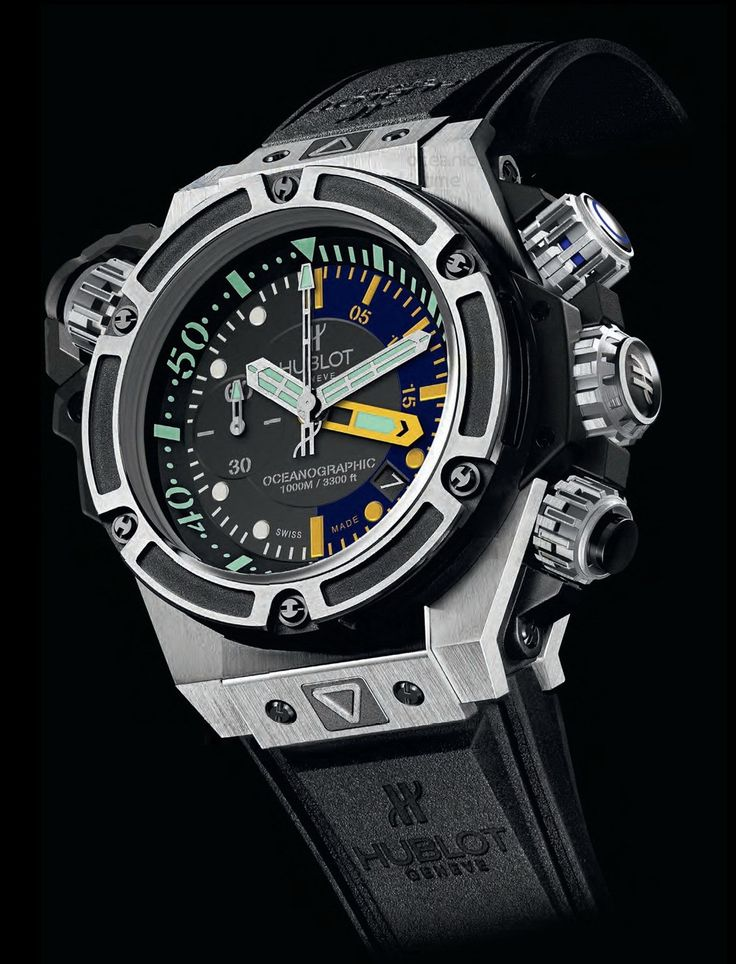 KING POWER OCEANOGRAPHIC 1000 TITANIUM watch on Presentwatch.com