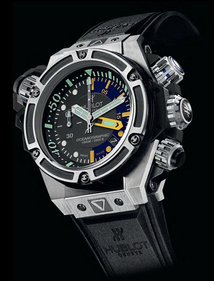 KING POWER OCEANOGRAPHIC 1000 TITANIUM watch on Presentwatch.com