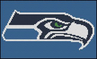 SEATTLE SEAHAWKS CROSS STITCH PATTERNS | Free Cross Stitch Patterns