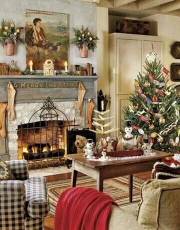 Old world looking Christmas