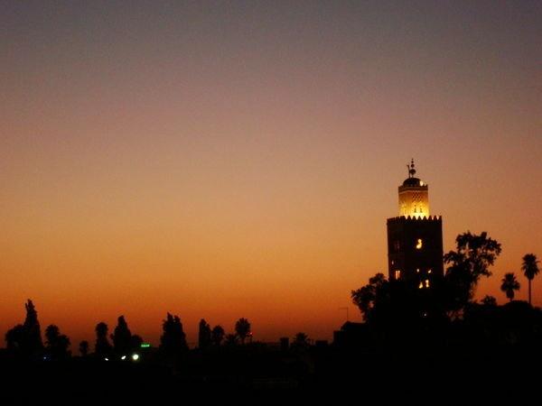 Sunset in Marrakech <3
