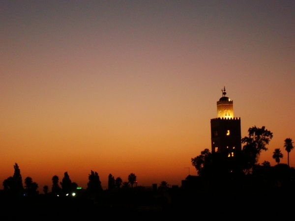 Sunset in Marrakech <3