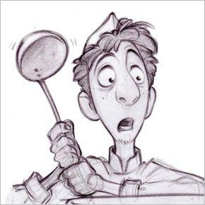 Personagens de Jason Deamer para a Pixar