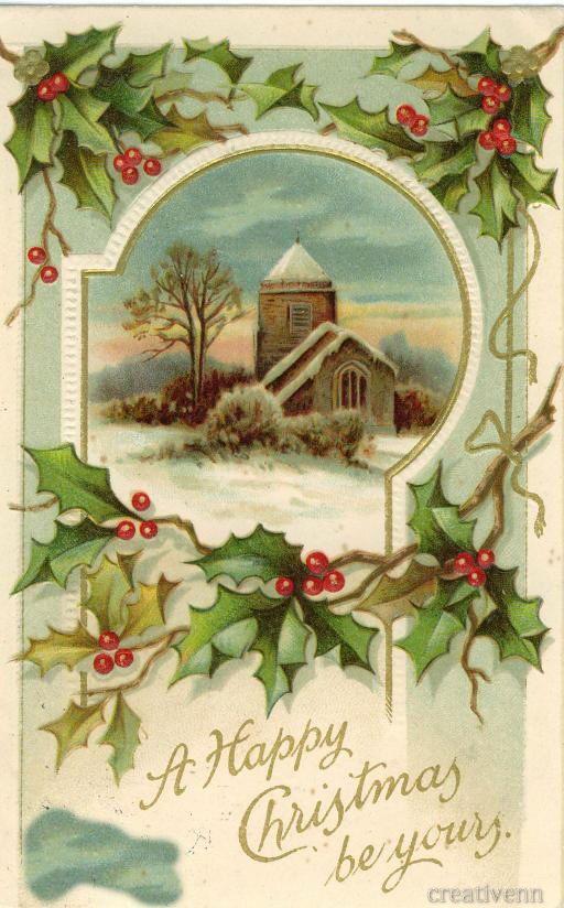 Символы в старинных открытках, критике открытки днем