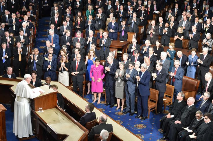 The following is the full text of Pope Francis's speech to Congress delivered September 24, 2015 in Washington.