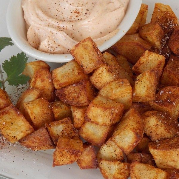 """Chef John's Patatas Bravas 